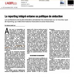 Agefi_Le reporting intégré entame sa politique de séduction_Antoine Landrot_161125